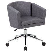 Boss Office Products Charcoal Grey Metro Club Desk Chair