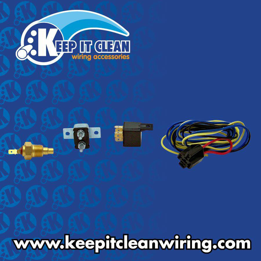 KEEPIT CLEAN 10611 Auxiliary Engine Cooling Fan Relay
