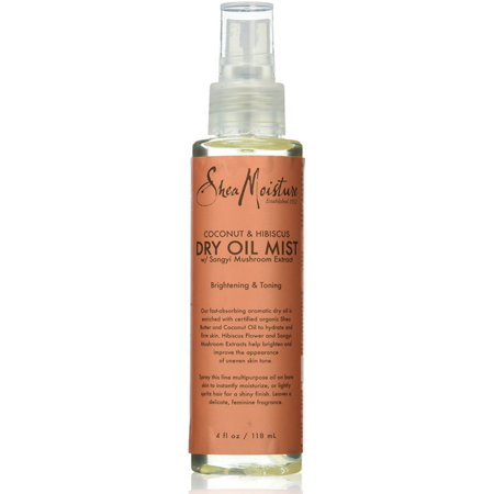 2 Pack - Shea Moisture Coconut & Hibiscus Dry Oil Mist for Unisex 4