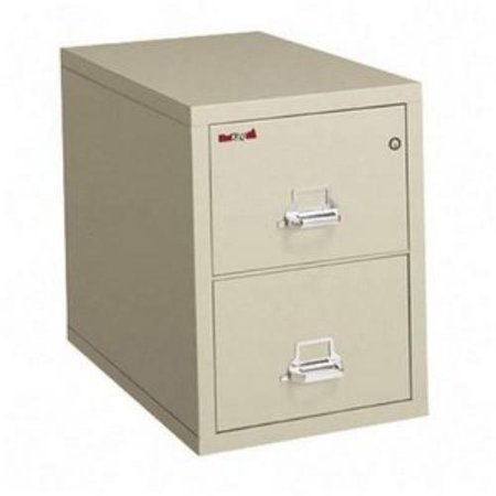 "Fire King 2-2131-C-PA File,lgl,insul,26""d,2drw"