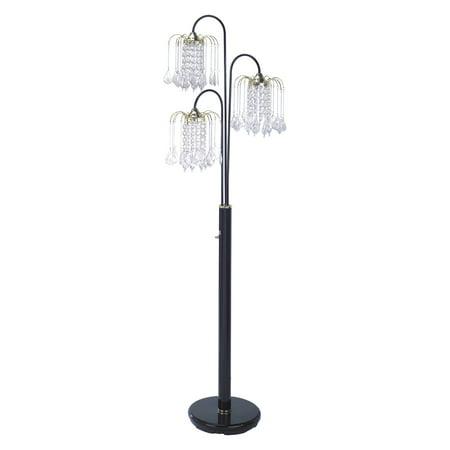 Milton Greens Sullivan 3-Way Floor Lamp 150w 3 Way Floor Lamp