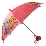 Nickelodeon Little Girls Paw Patrol Character Rainwear Umbrella, Ages 3-7, Dark Blue