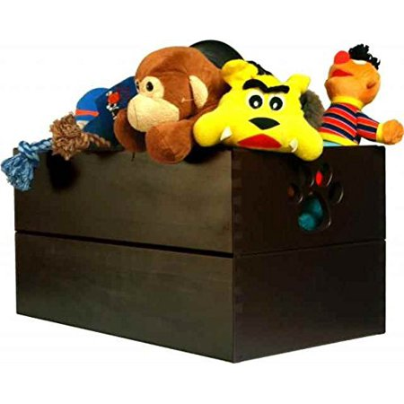 - Pet Toy Box - Mahogany