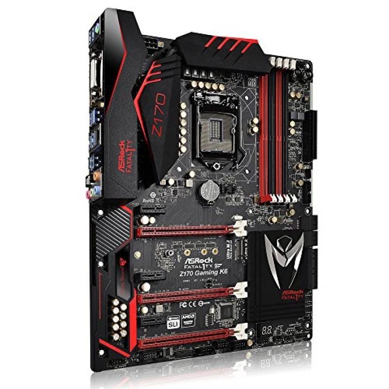 ASRock ATX DDR4 Motherboards Z170 GAMING K6