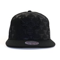 6ba1353be46 Product Image Mitchell   Ness Chicago Bulls Dark Repeater Snapback
