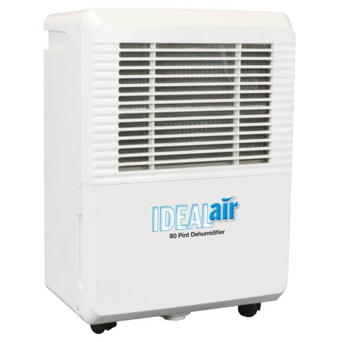 Ideal-Air 700828 80 Pint Per Day Dehumidifier