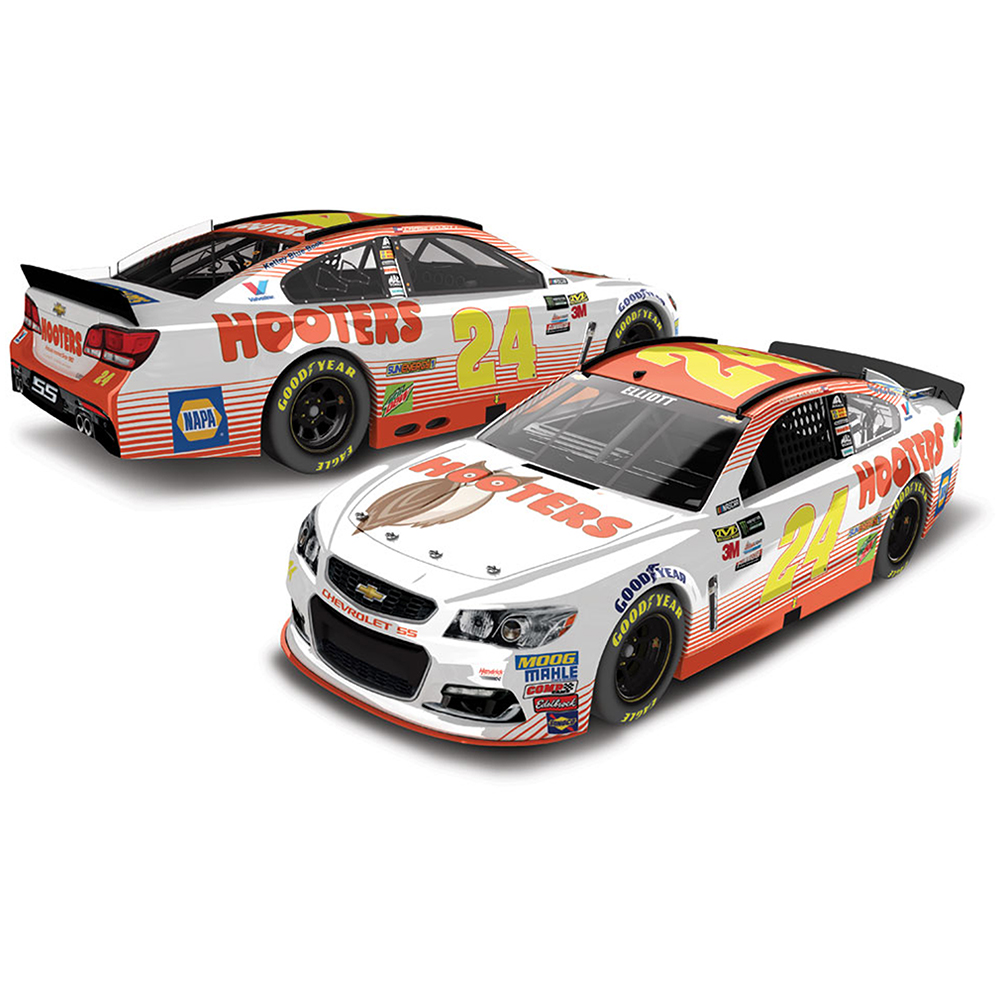 Chase Elliott Action Racing 1:64 Hooters Die-Cast Car - No Size