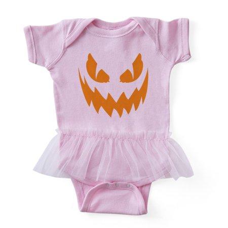CafePress - Creepy Halloween Face - Cute Infant Baby Tutu Bodysuit](Cute And Creepy Halloween Makeup)