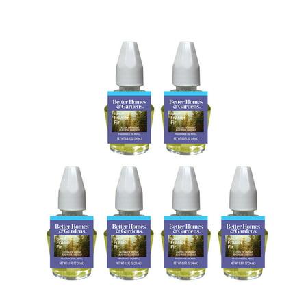 Thymes Frasier Fir Home Fragrance (Better Homes & Gardens 24 mL Sunlit Frasier Fir Fragrance Oil, 6-Pack )