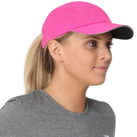 TrailHeads Women's Race Day Running Cap - pink punch
