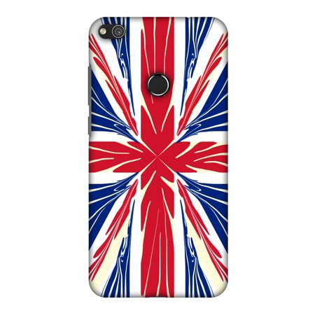 Halloween Dates 2017 Uk (Huawei P8 Lite 2017 Case, Premium Handcrafted Printed Designer Hard Snap on Shell Case Back Cover for Huawei P8 Lite 2017 - UK flag-)