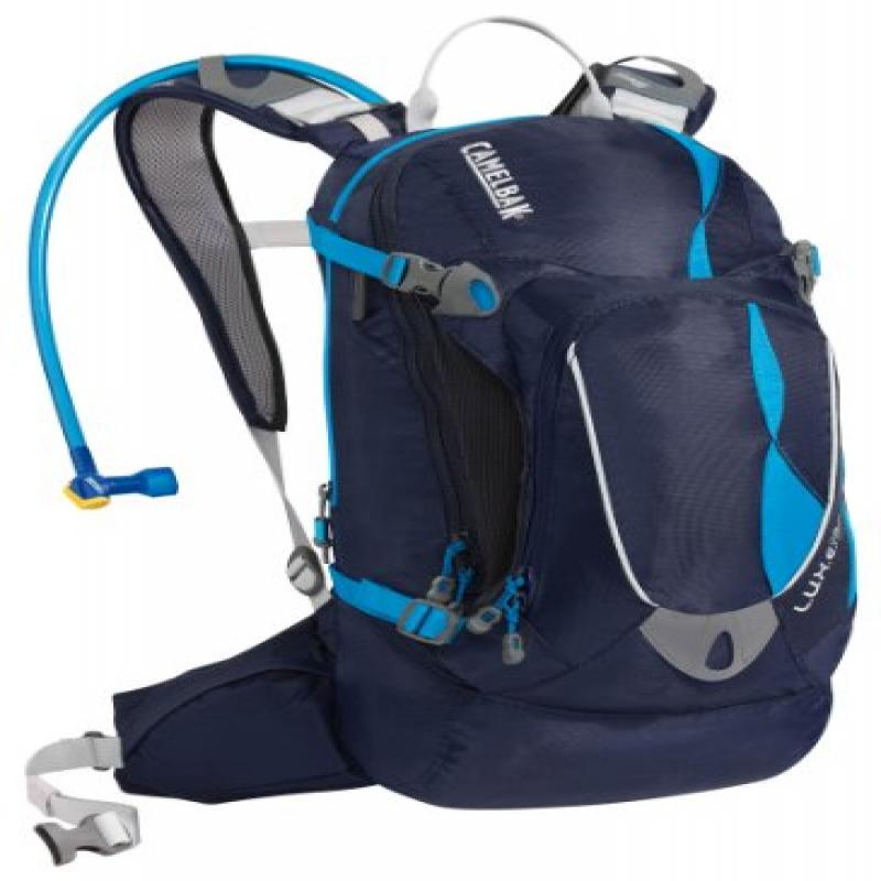 Camelbak Products Women's L.U.X.E. NV Hydration Backpack, Peacoat Diva Blue, 100-Ounce by CamelBak