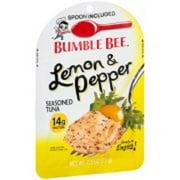 Bumble Bee Lemon and Pepper Seasoned Tuna 2.5 oz (Pack of 3)
