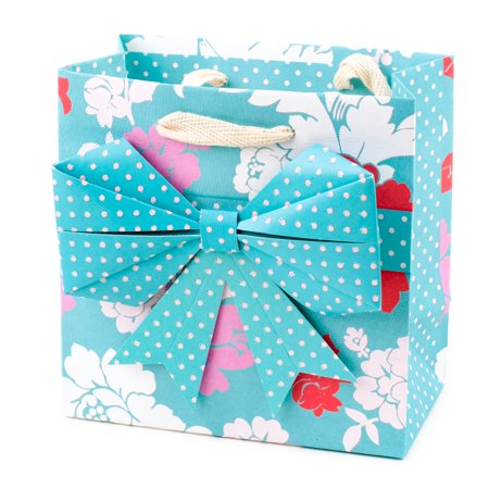 Party Origami (Hallmark Signature Small Gift Bag for Birthdays, Baby Showers or Any Occasion (Origami Bow))
