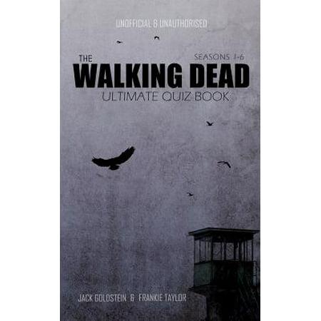The Walking Dead Ultimate Quiz Book - Halloween Quiz Print