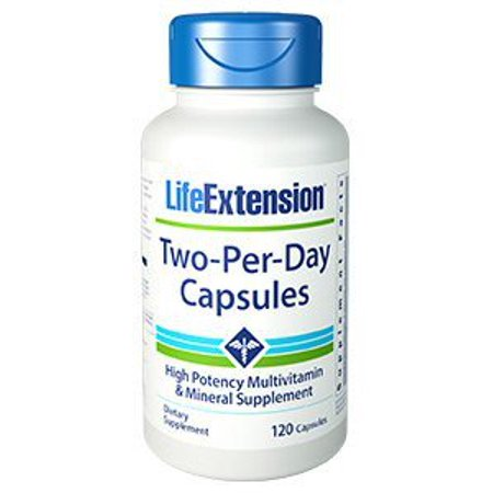 Two Per Day Life Extension 120 Caps (Life 120 Caps)