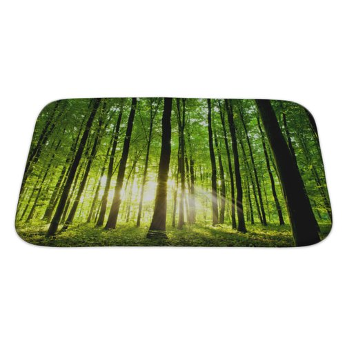 Gear New Landscapes Beautiful Forest Bath Rug