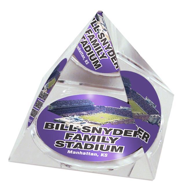 Paragon Innovations Company KansasStateStaPYR303 NCAA Kansas State University Bill Snyder Stadium Crystal Pyramid