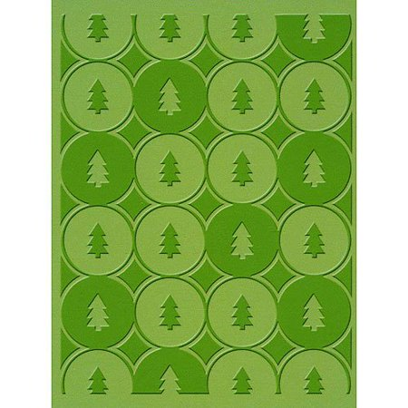 Cuttlebug A2 Embossing Folder, Winter Trees, 5 by 7 By Provo Craft