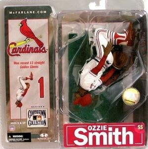 McFarlane MLB Cooperstown Collection Series 4 Ozzie Smith Action Figure [Brown Glove]