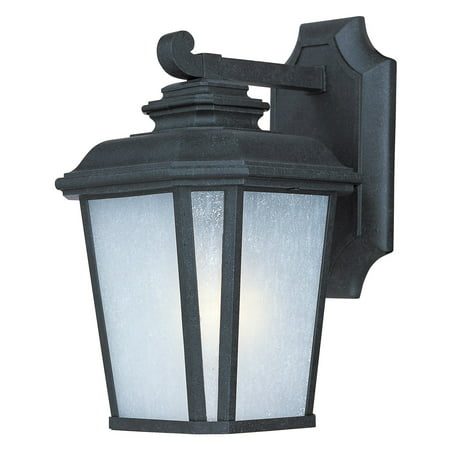 Wall Sconces 1 Light Bulb Fixture With Black Oxide Finish Die Cast Aluminum Material Medium Bulbs 7 inch 60 Watts ()