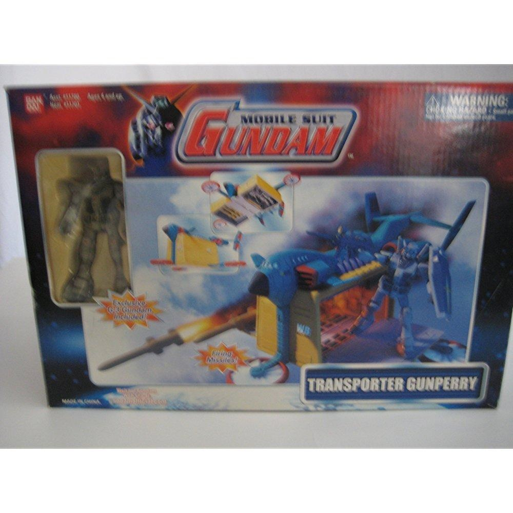 Mobile Suit Gundam Transporter Gunperry with Exclusive G-3 Gundam Included by