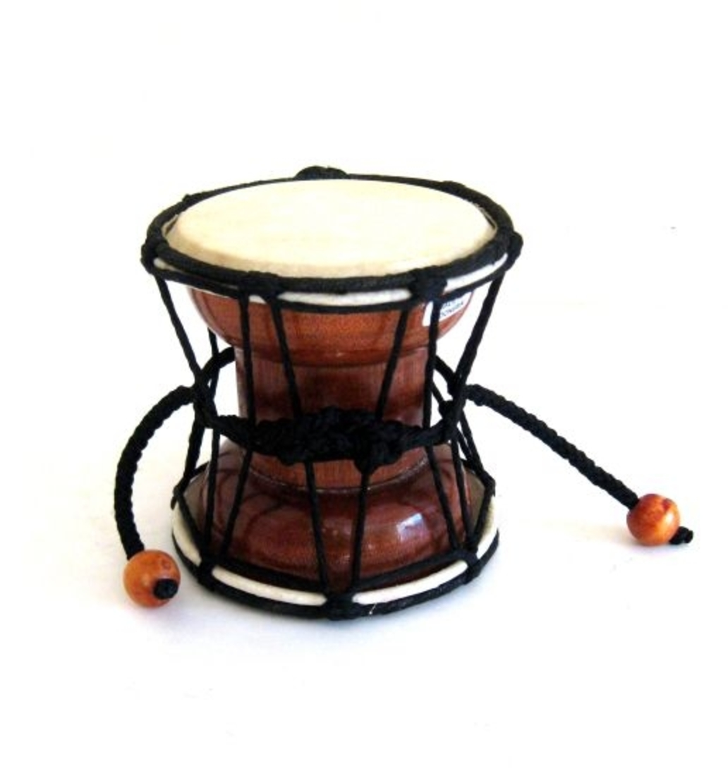Djembe Drum Small Drum Damaru Hand Drum, Mini Drum, JIVE BRAND, Professional Sound by