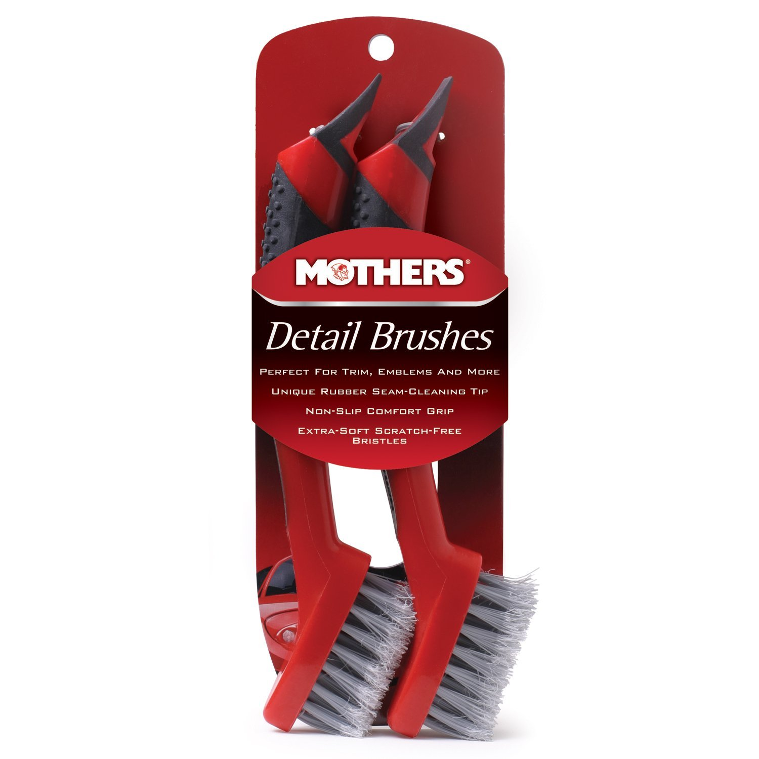 Mothers Detail Brush Set, 2-Pack