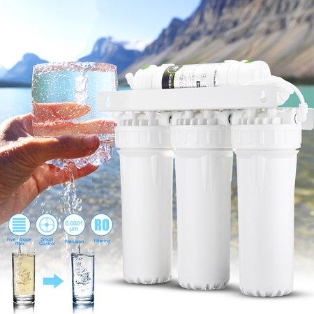 Kitchen 5-Stage Drinking Reverse Osmosis System RO Home Purifier Water Filters
