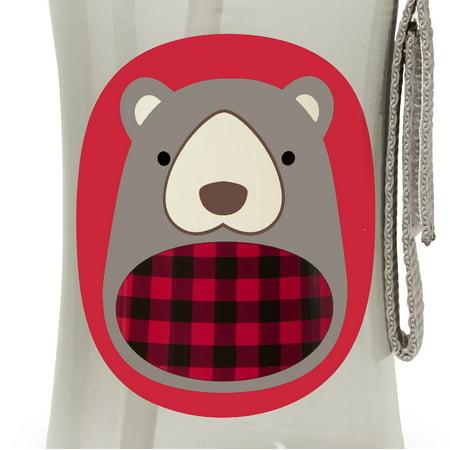 Best Skip Hop Zoo Winter Straw Bottle, Bear deal