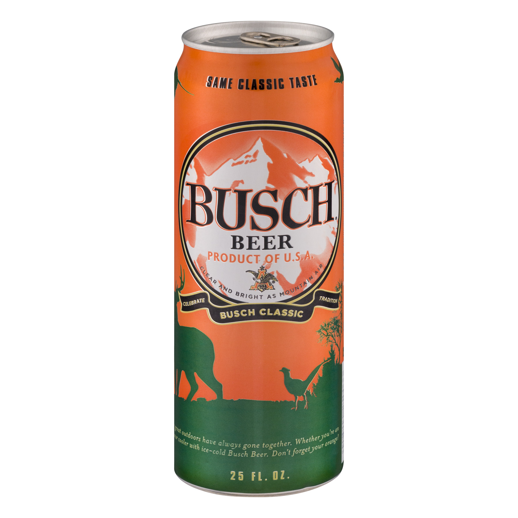 Busch Beer Classic Limited Edition, 25.0 FL OZ