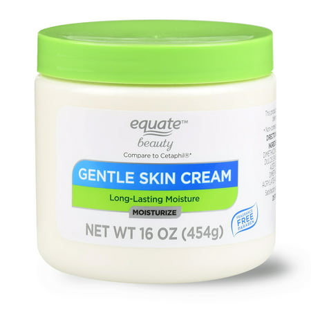 Equate Beauty Gentle Skin Cream with Long-Lasting Moisture Lotion, 16 (Velvety Soothing Skin Cream)