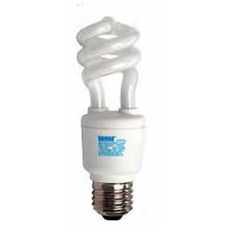 Replacement for CF11/COIL/CW 4100K COOL WHITE 11W COIL/SPIRAL E26 ENERGY EFFICIENT replacement light bulb (11w Spiral)
