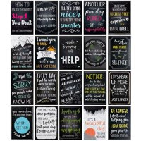 20-Pack Funny De-Motivational Satire Quotes Posters for Home & Office Wall Decor, 13 X 19 inches