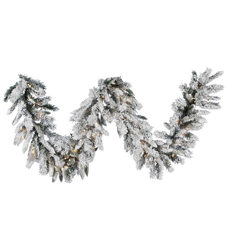 "9' X 16"" Snow Ridge Garl Dura-Lit 100 Clear"