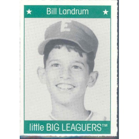 1991 More Little Big Leaguers Bill Landrum Pirates Little League Photo