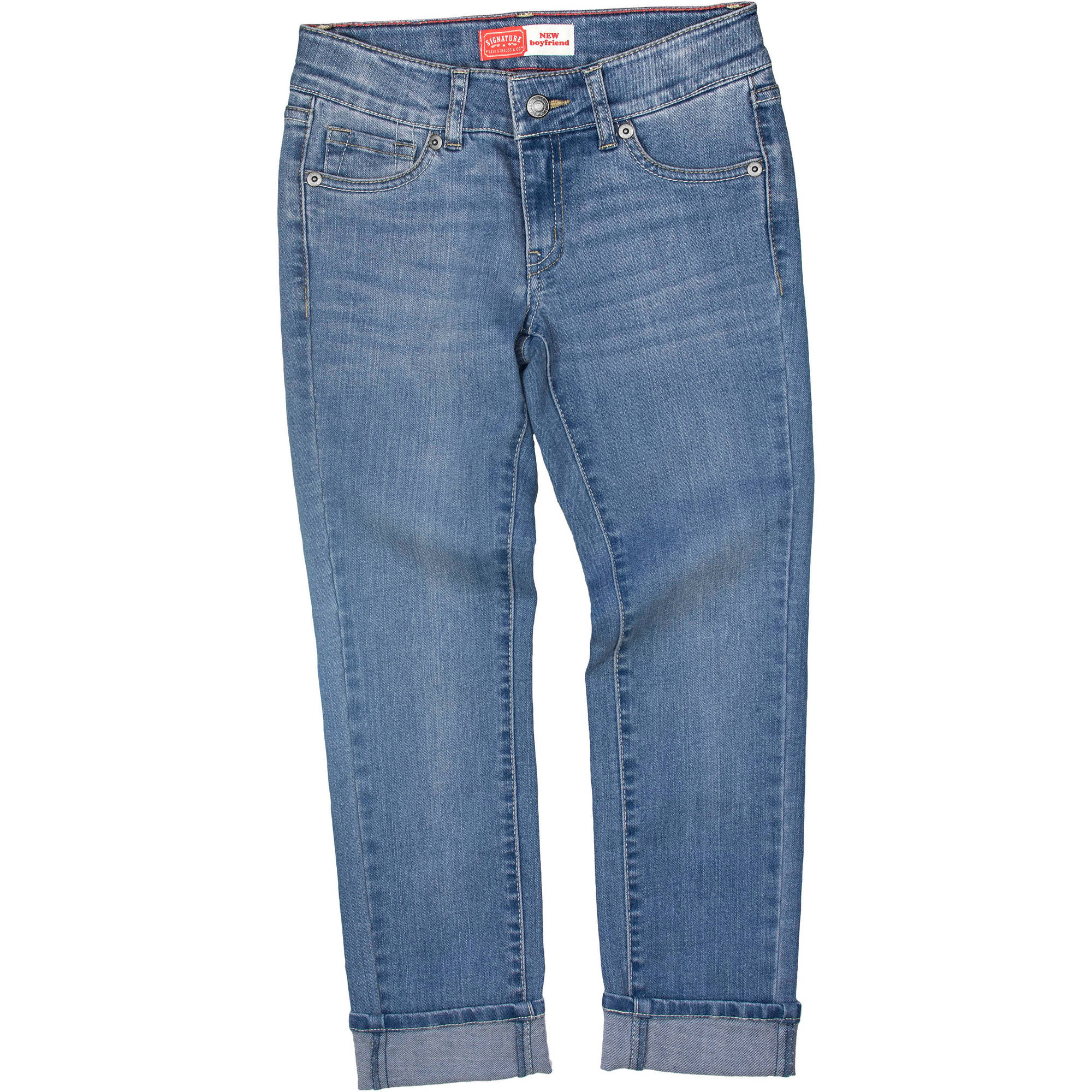 Signature By Levi Strauss & Co. Girls Boyfriend Jean