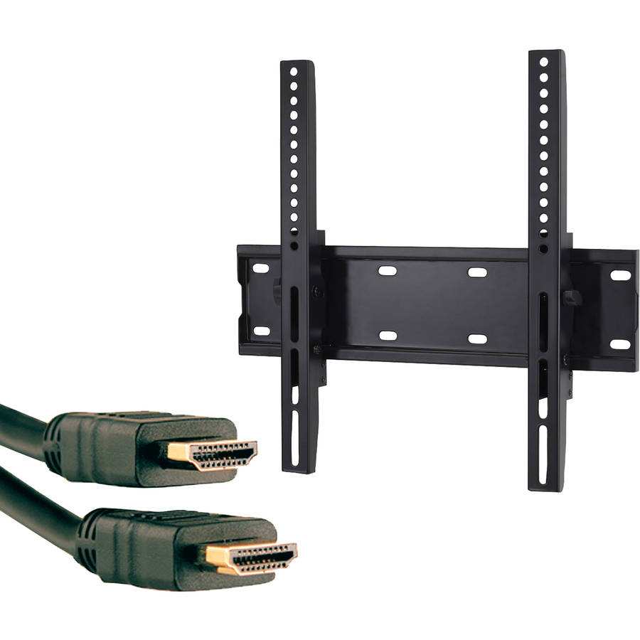 "Omnimount OC80T.2 37""-55"" OmniClassic Tilt Mount and Axis 41204 High-Speed HDMI Cable with Ethernet, 9'"