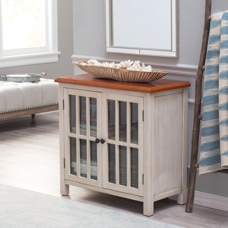 Belham Living Hawthorne 2-Door Accent Cabinet - Antique White