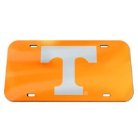 WinCraft Tennessee Volunteers License Plate - Crystal Mirror - Logo
