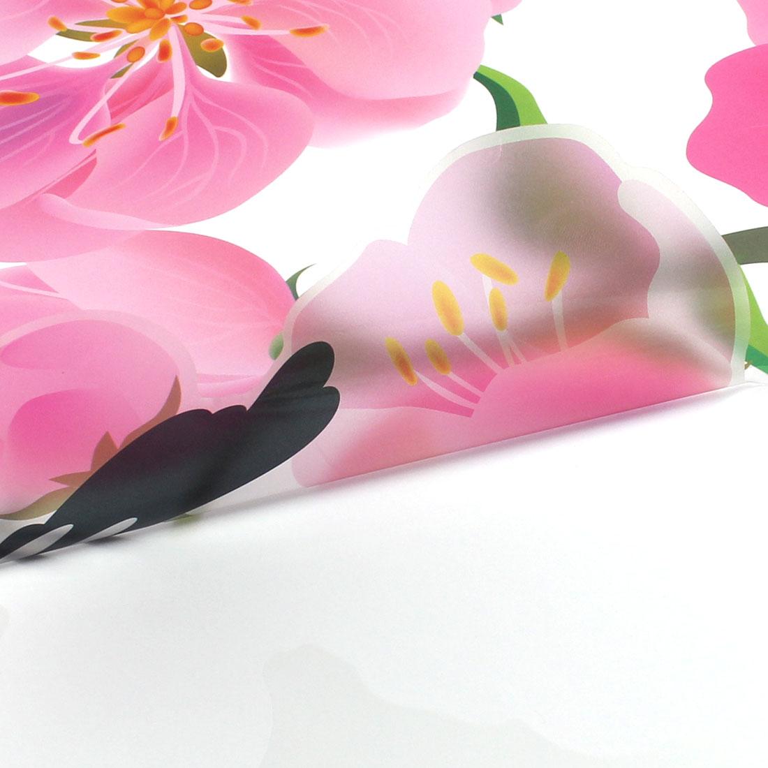 Household Flower Bird Pattern Removable Wall Sticker Decoration - image 2 de 3