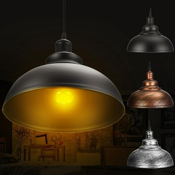 Retro Vintage Industrial Metal Pendant Light E27 Ceiling Lights Lampshade For Kitchen Living Room Counter Dining Room Restaurant Walmart Com Walmart Com
