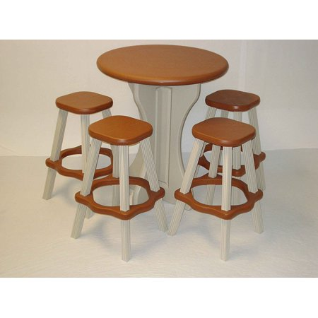 Hot Tub Leisure Accents 5 Pc Spa Bistro Table Set With