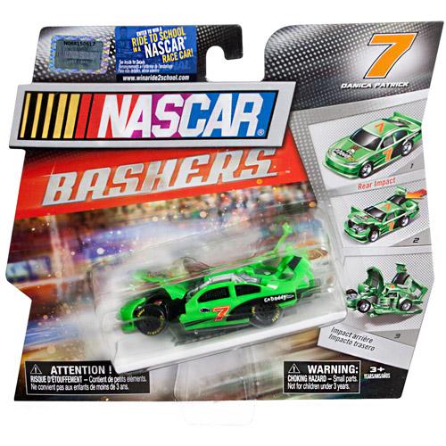 NASCAR Full Blast Crash Car, #7 Go Daddy