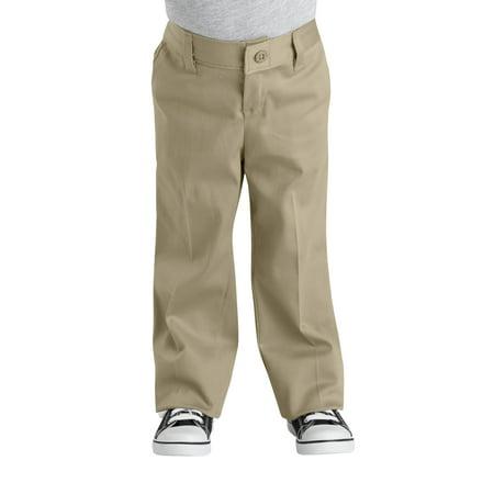 b7b49b53f56 Girls  School Uniforms Classic Fit Straight Leg Stretch Twill Pant ...