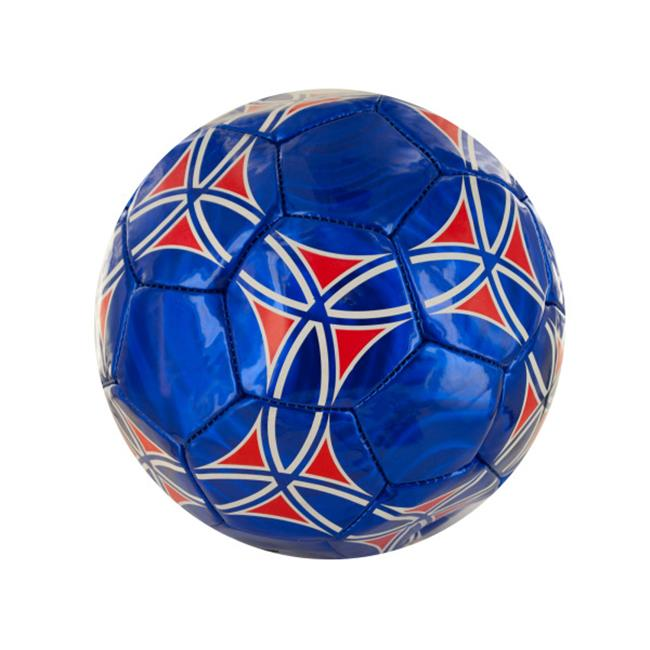 Bulk Buys OF280-4 Size 5 Laser Soccer Ball, 4 Piece