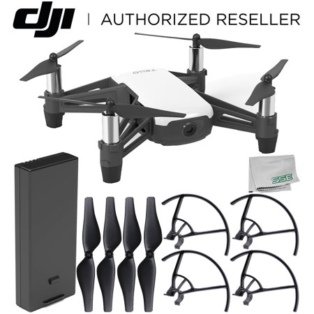 Ryze Tello Quadcopter Drone with HD camera and VR - powered by DJI technology and Intel Processor Starter Bundle