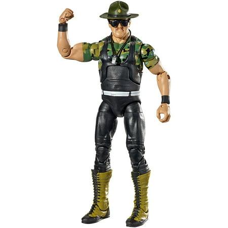 WWE Wrestling Elite Collection Hall of Fame Sargent Slaughter 6