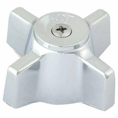 Handle Handshower Plate (EZ-Flo 32405 Chrome Plated Handle Tub and Shower Chrome)