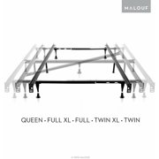 structures adjustable metal bed frame queen full xl full twin xl - Xl Twin Frame